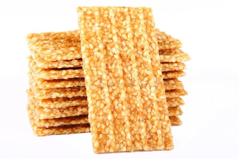 Sesamkuchen stockfoto