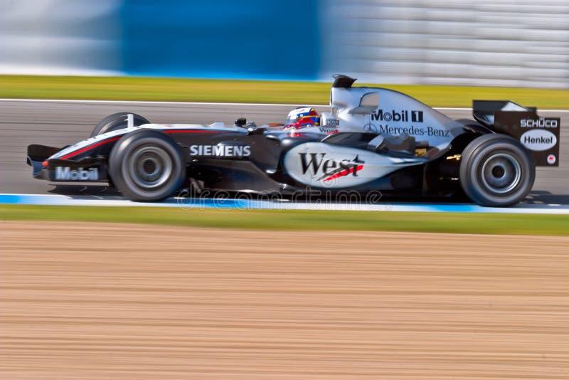 Sessão de formação oficial do Fórmula 1, 2005 imagem de stock