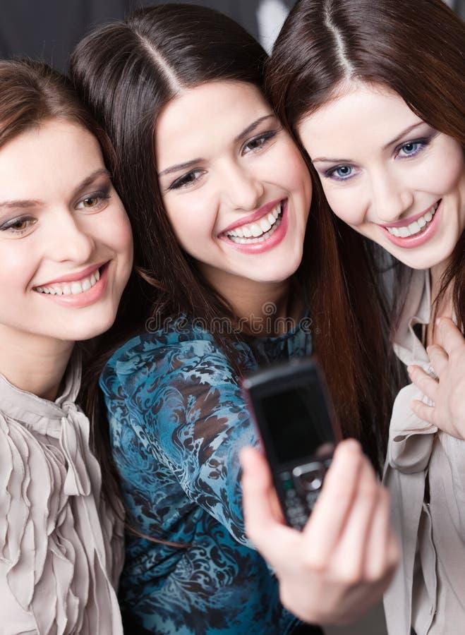 Sessão de foto das meninas foto de stock royalty free