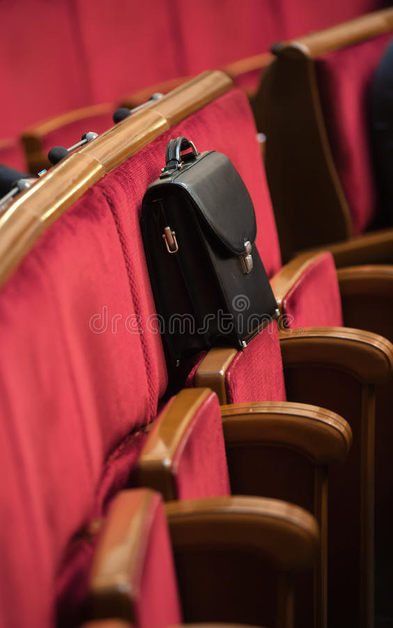 Sessão do Verkhovna Rada de Ucrânia fotografia de stock