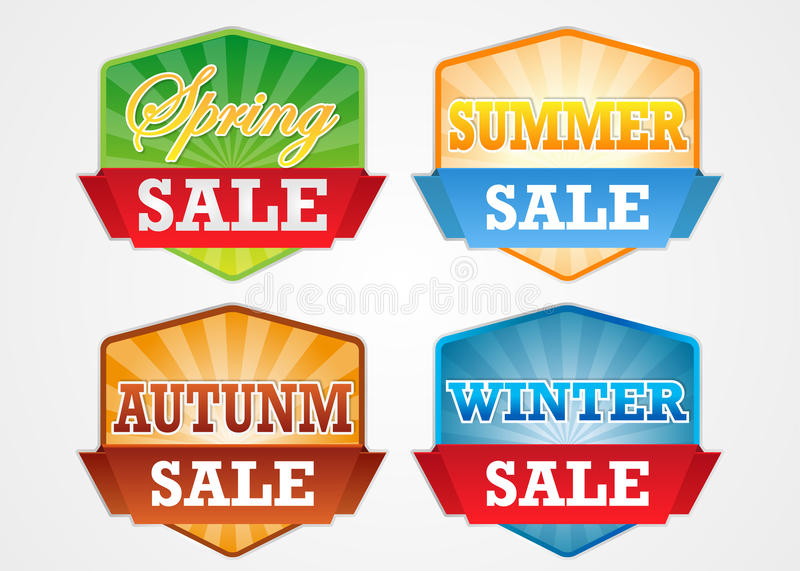 session sale badge royalty free stock photos