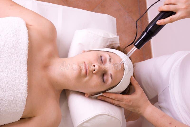 sessione di massaggio fotografia stock libera da diritti