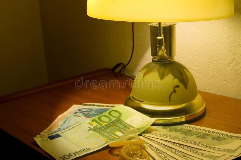 Sesso e soldi immagini stock libere da diritti