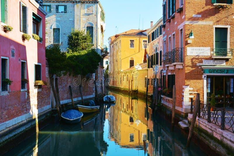 Sestiere Di S Polo, Venetië, Italië, Europa stock afbeelding