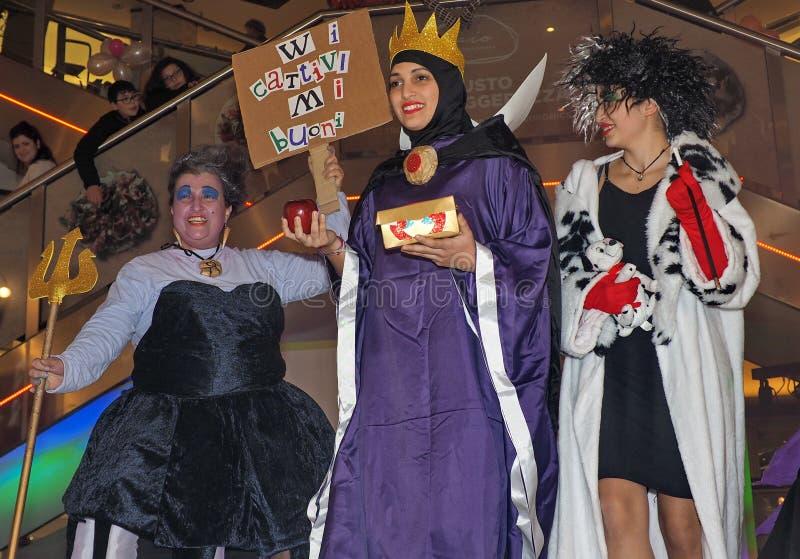 Sesto San Giovanni, Italia: 16 febbraio 2019: Concorrenza di cosplay immagini stock
