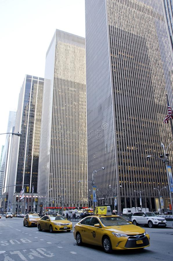 Sesto viale New York immagini stock libere da diritti