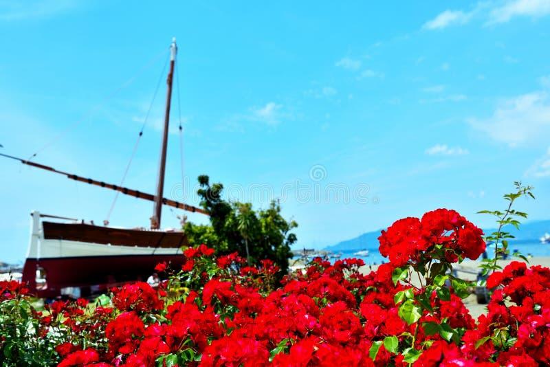 Sestri Levante, Γένοβα Ιταλία στοκ φωτογραφία με δικαίωμα ελεύθερης χρήσης