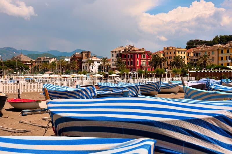 Sestri Levante, Γένοβα Ιταλία στοκ εικόνες με δικαίωμα ελεύθερης χρήσης