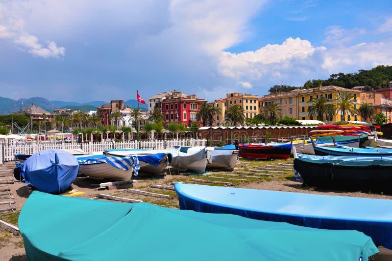 Sestri Levante, Γένοβα Ιταλία στοκ εικόνα