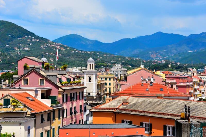 Sestri Levante, Γένοβα Ιταλία στοκ εικόνες
