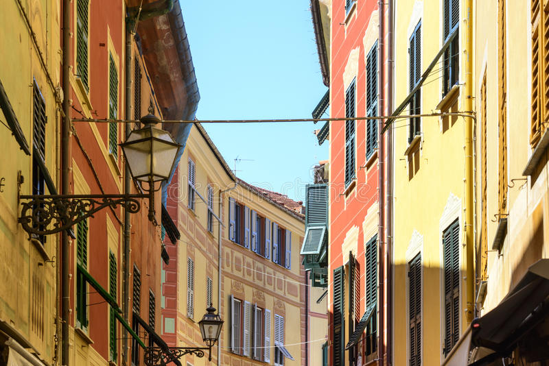 Sestri Levante (Γένοβα, Ιταλία) στοκ εικόνα με δικαίωμα ελεύθερης χρήσης