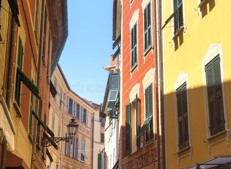 Sestri Levante (Genoa, Itália) imagem de stock