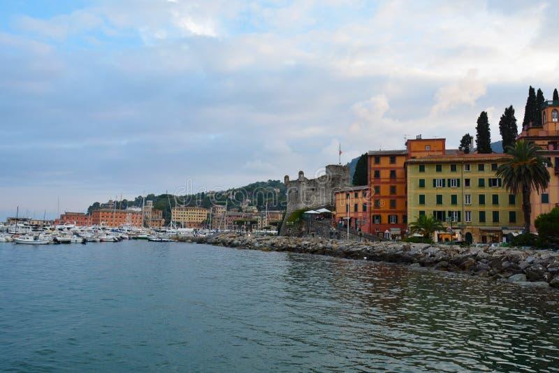 Sestri Levante, Ligurien, Italien lizenzfreie stockfotos