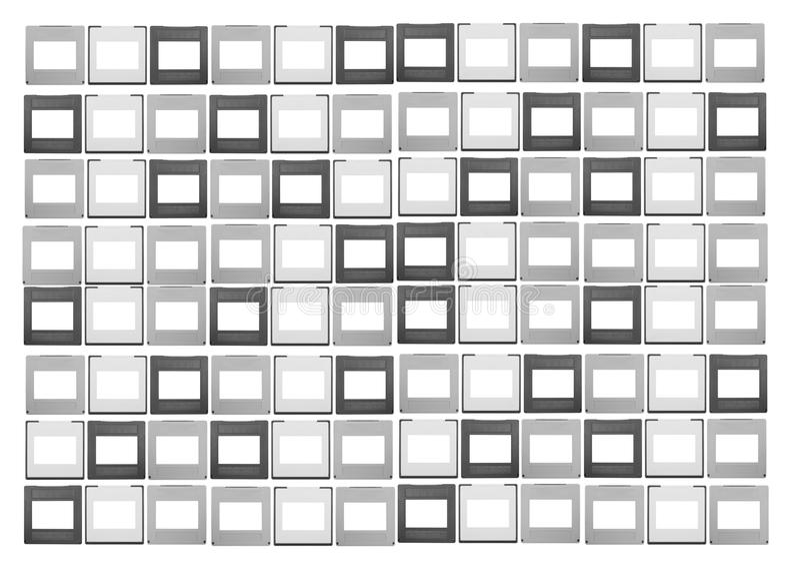 set of 35mm slides stock image