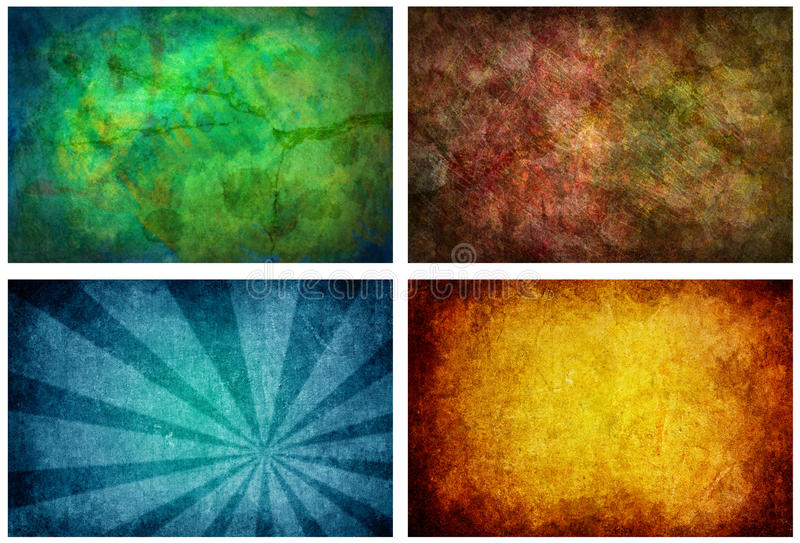 Download Set Of 4 High Resolution Texture Backgrounds Stock Illustration - Image: 14552652
