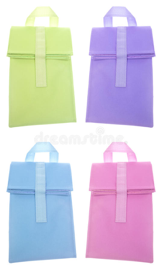 Set of 4 Reusable Lunch Bag Sacks