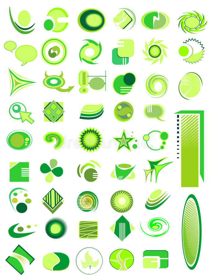 Download Set of 50 icons stock vector. Image of creative, design - 6750911