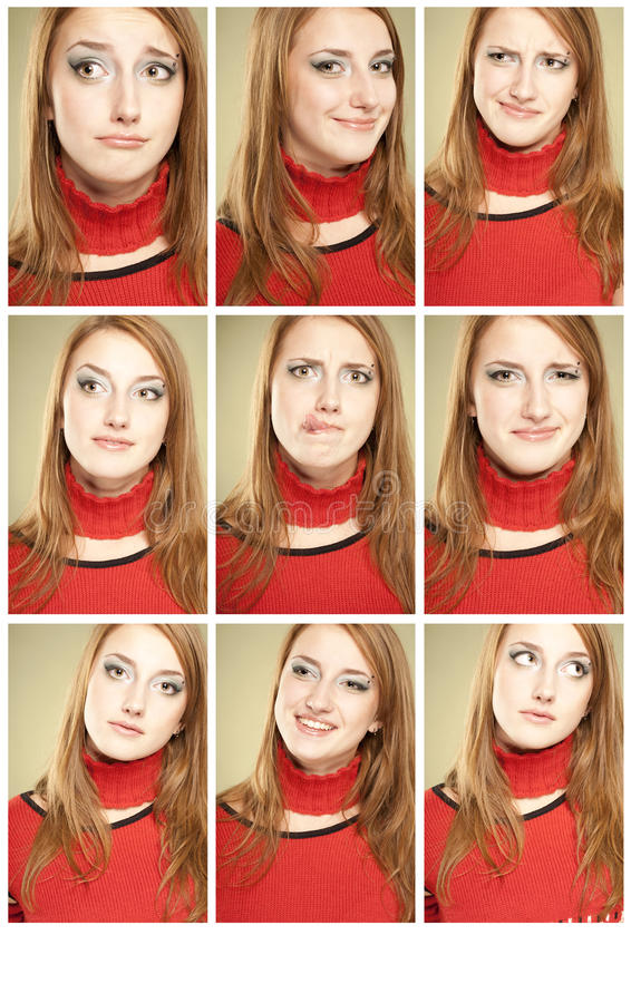 Download Set Of 9 Funny Faces Stock Photography - Image: 11531962