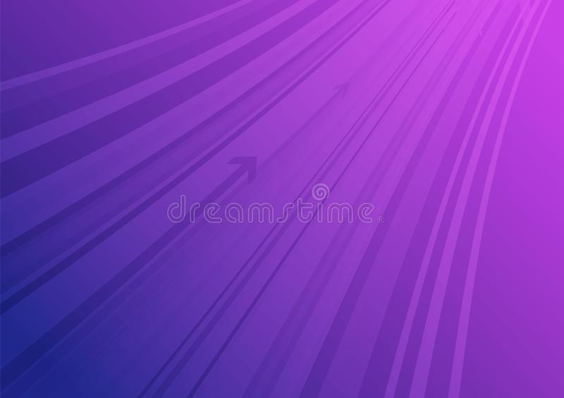 Set of abstract colorful vector arrow stripes vector illustration