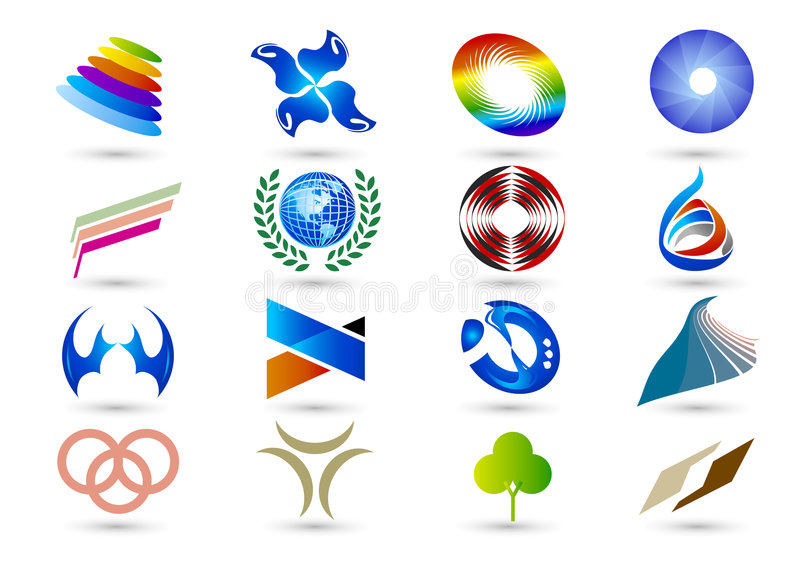 Download Set Of Abstract Elements For Design-part10 Stock Photo - Image: 9104640