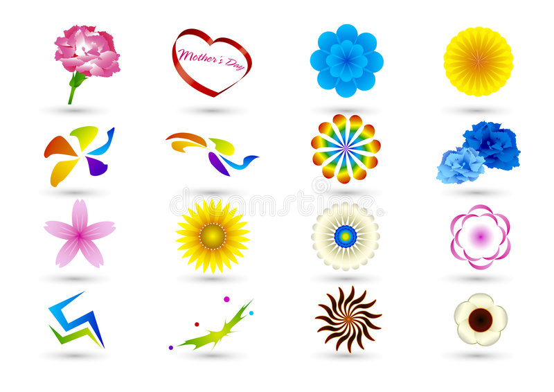 Download Set Of Abstract Elements For Design-part6 Stock Vector - Image: 8895657