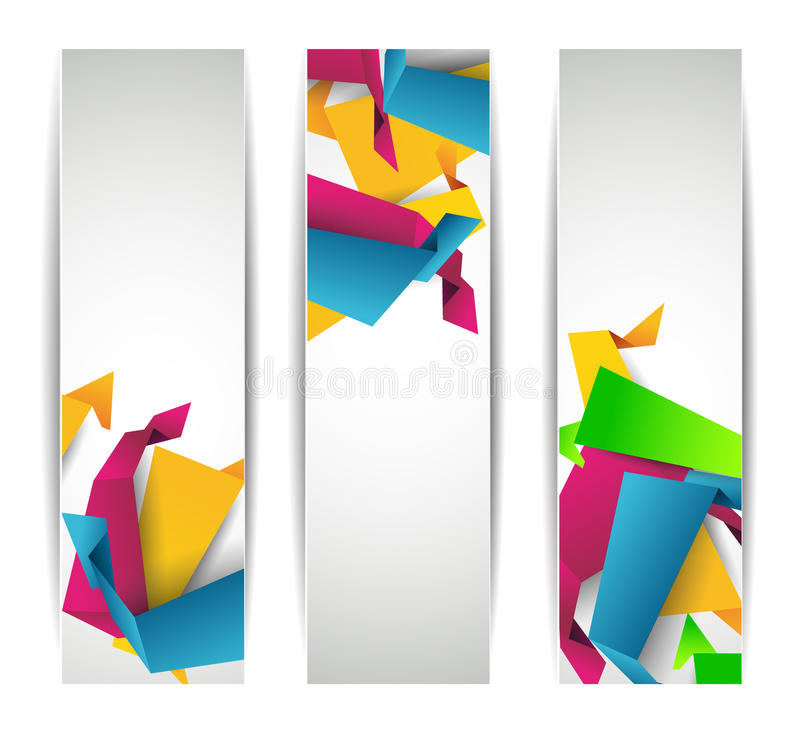Download Set Of Abstract Modern Header Banner Stock Vector - Image: 19782276