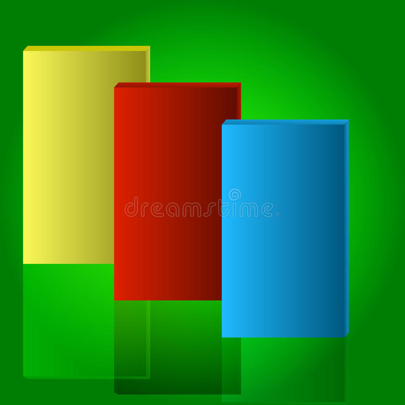 Download Set Of Abstract Rectangle Box Stock Vector - Image: 38505468