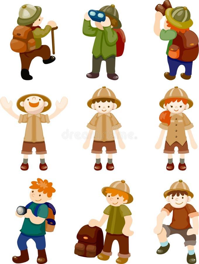 Set of Adventurer people