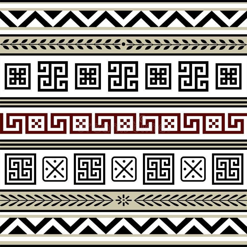 Set Antikeränder lizenzfreie abbildung