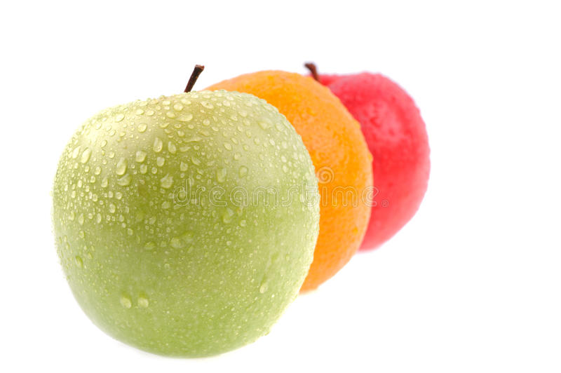 Set Of Apple Royalty Free Stock Photography
