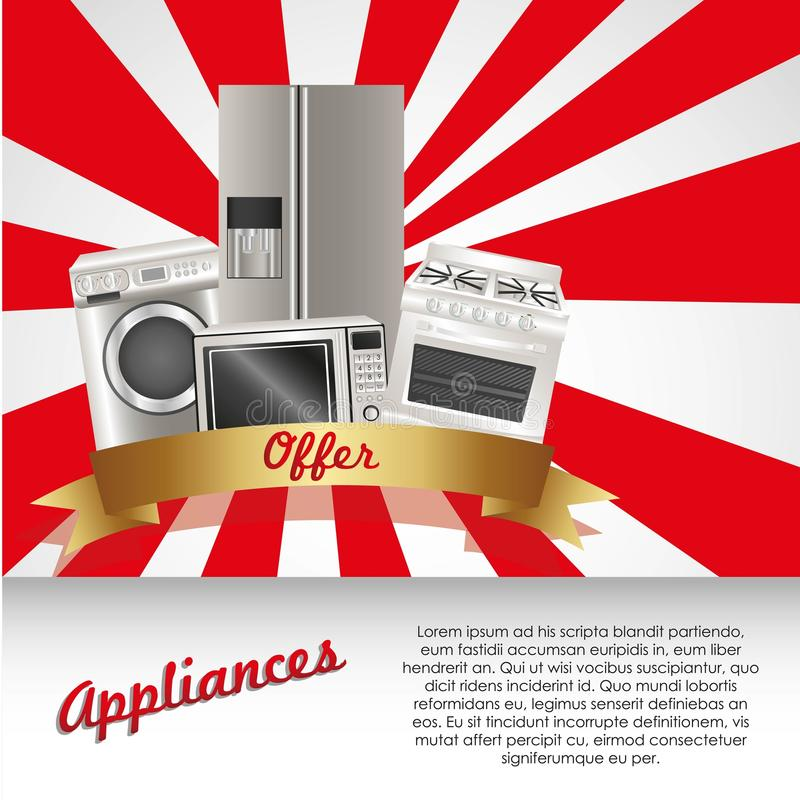 Download Set Of Appliances Stock Photography - Image: 25352942
