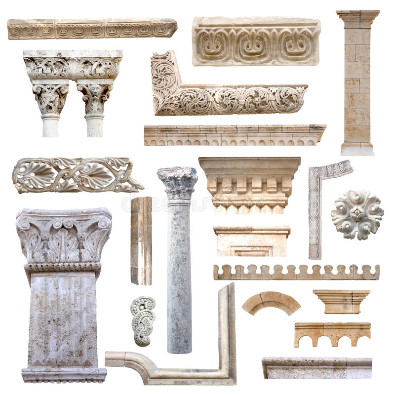 Download Set Of Architecture Details Stock Photo - Image: 22424086