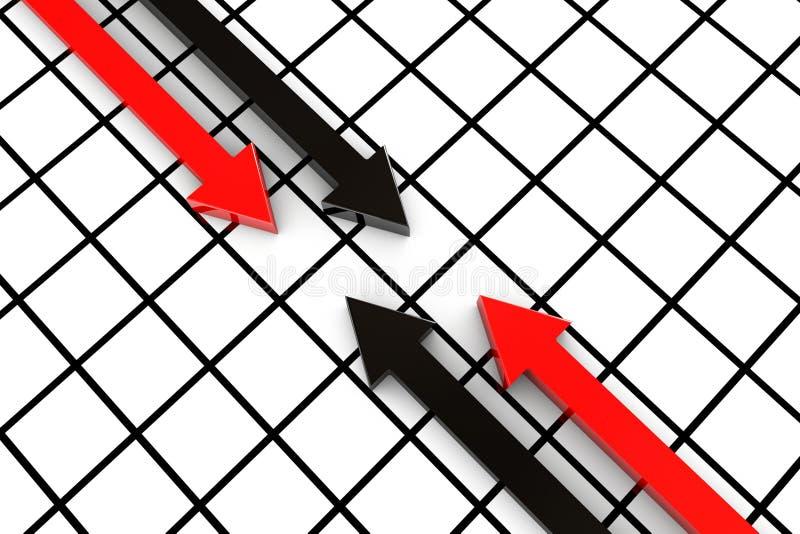 Download Set of arrows stock illustration. Illustration of path - 25580702