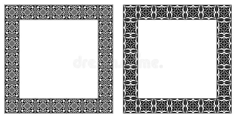 Download Set Of Art Nouveau Simple  Frames Stock Vector - Illustration of elegant, element: 22279367