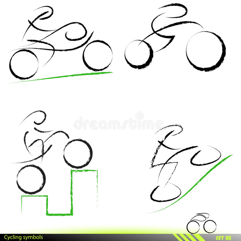 Download Set of artistic icons. stock vector. Illustration of exercise - 16039546