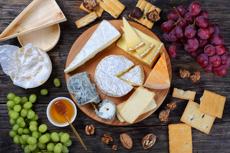 Download Set Of Authentic French Cheese Plate Stock Photo - Image of brie authentic & Set Of Authentic French Cheese Plate Stock Photo - Image of brie ...