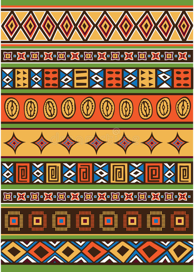 Set av den afrikanska modellen