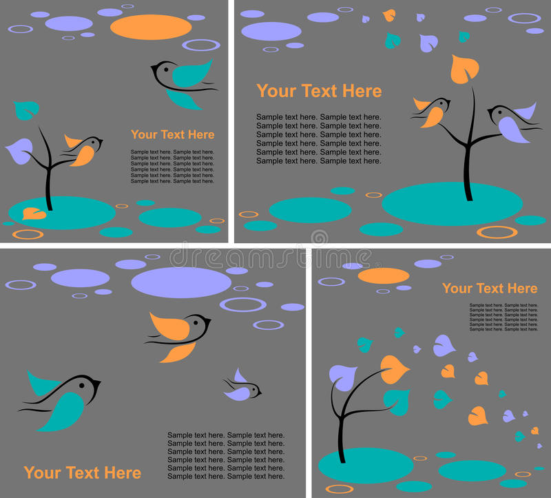 Download Set of backgrounds stock vector. Illustration of nobody - 23284995