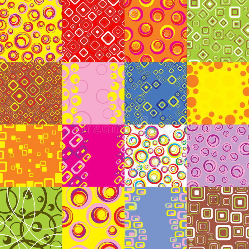 Download Set Backgrounds.Vector. Royalty Free Stock Image - Image: 11183136