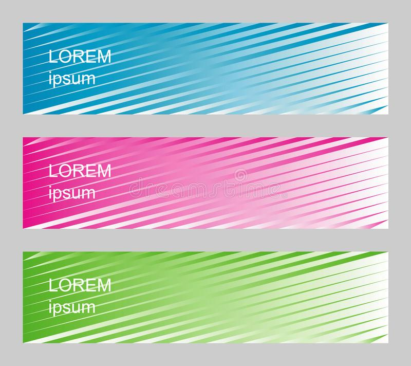 Set of banners. vector illustration