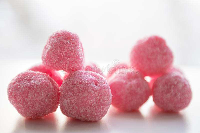 Set for bath bombs. Beauty products for body care stock image