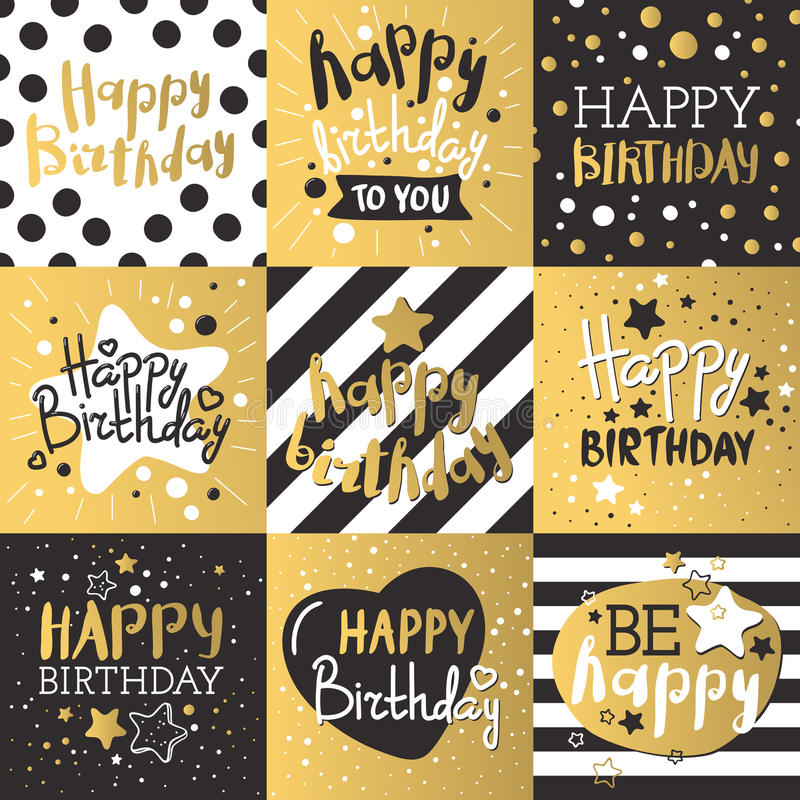 Set of beautiful birthday invitation cards decorated with colorful download set of beautiful birthday invitation cards decorated with colorful balloons cakes and cartoon elephant stopboris Gallery