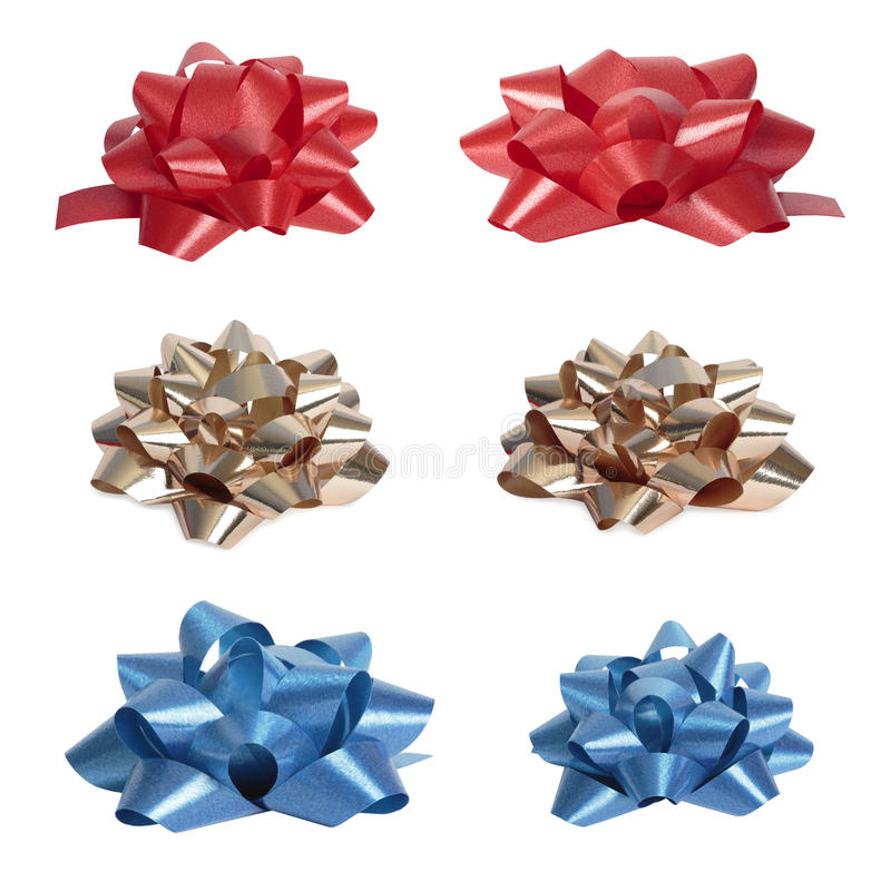 Download Set Of  Beautiful Colourful Bows Stock Photo - Image: 24978666