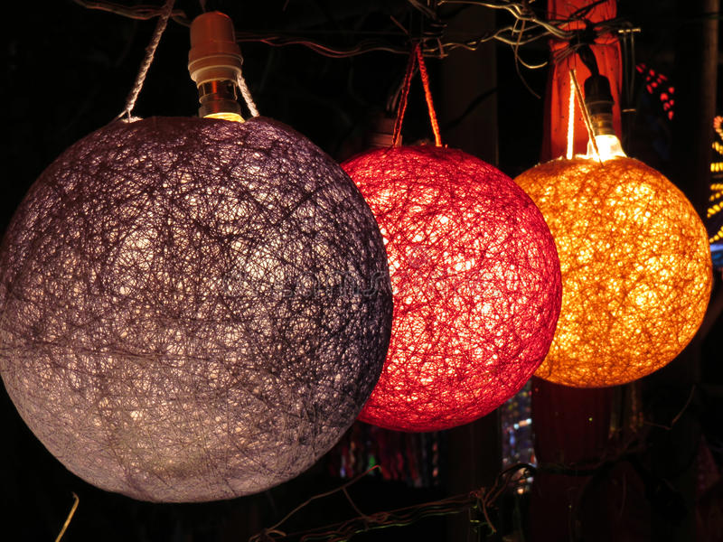 Download Designer Lamps stock image. Image of round, electricity - 30290545