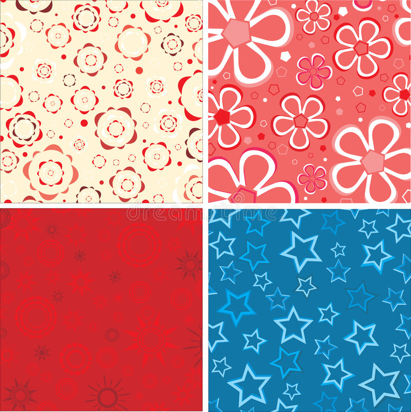 Download Set Of The Beauty Textures. Stock Vector - Illustration: 6207856
