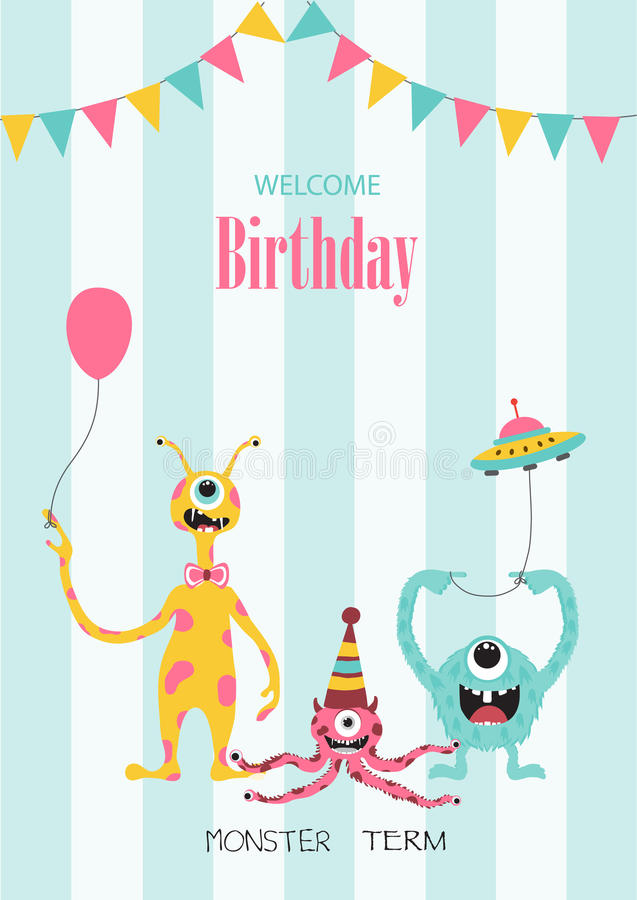 Set Of Birthday Cardspostertemplategreeting Cardsanimals – Set of Birthday Cards