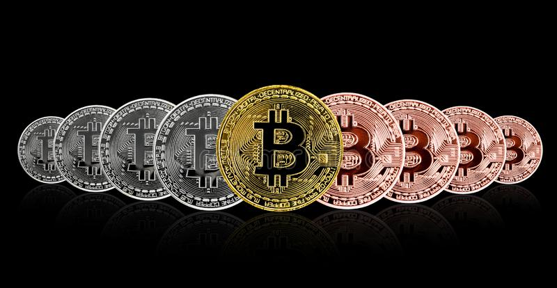 Bitcoin Cryptocurrency Digital Bit Coin BTC Currency ...