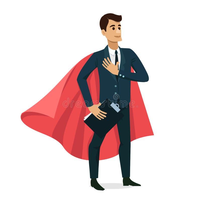 Set biznesmena charakteru szczęśliwy projekt również zwrócić corel ilustracji wektora royalty ilustracja