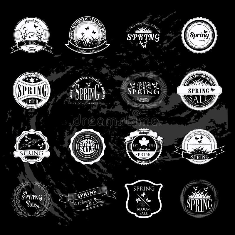Set biznesu znaka grafika i logo odznaka ilustracja wektor