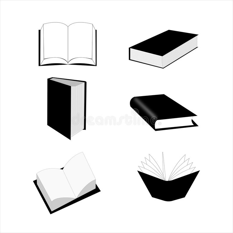 Book set royalty free stock photo